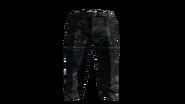 Black Slacks Pants Model (D-BD)