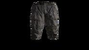 Canvas Pants Short (Violet) Model (D-BD)