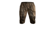Canvas Pants Short (Beige) Model (P-W)