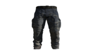 Blue Cargo Pants Model (D-BD)