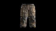 Beige Canvas Pants Model (D-BD)