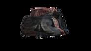 Red Canvas Pants (D-BD)