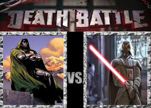 Death Battle Dr Doom vs Darth Vader