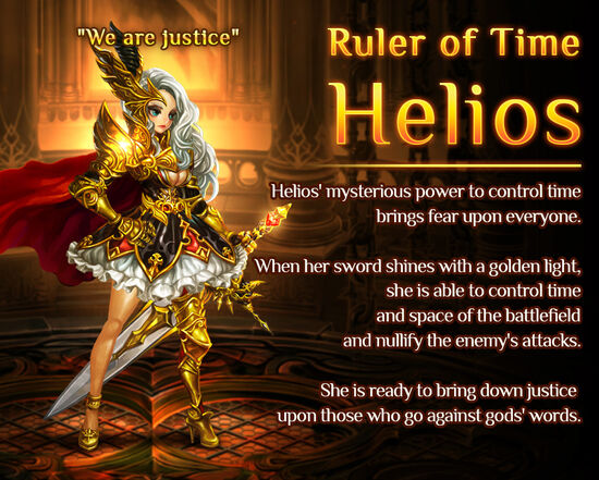 Ruler of Time Helios release poster