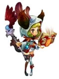 Guild Battle Priest Costume