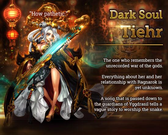 Dark Soul Tiehr release poster
