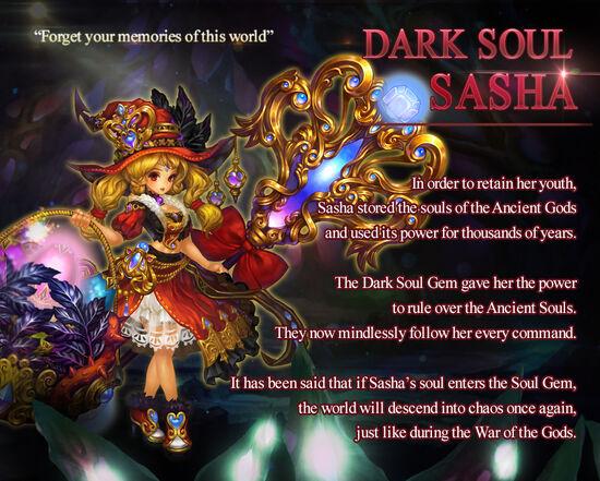 Dark Soul Sasha release poster