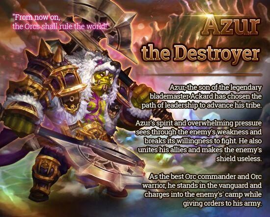 Destructive Azur release poster