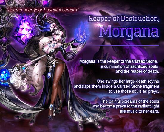 Dark Soul Morgana release poster