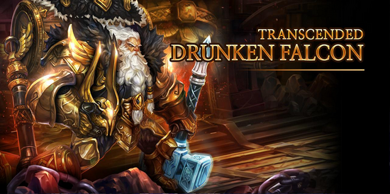 Transcended Drunken Falcon release poster