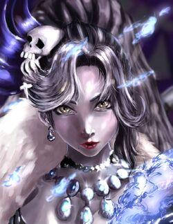 Dark Soul Morgana fanart1
