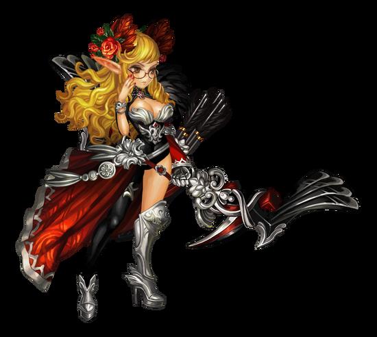 Dark Elf Queen Windlune raw
