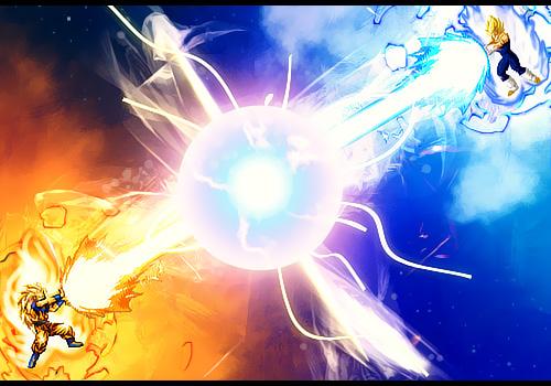 File:Goku Vs Vegeta by gvbn10.jpg