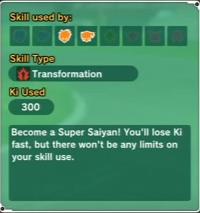 Super Saiyan(Skill)