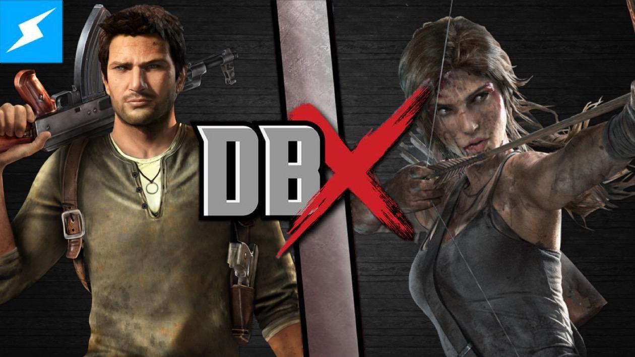 Lara Croft And Nathan Drake: Nathan Drake Vs Lara Croft