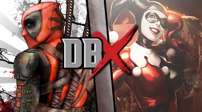 Deadpool vs Harley Quinn