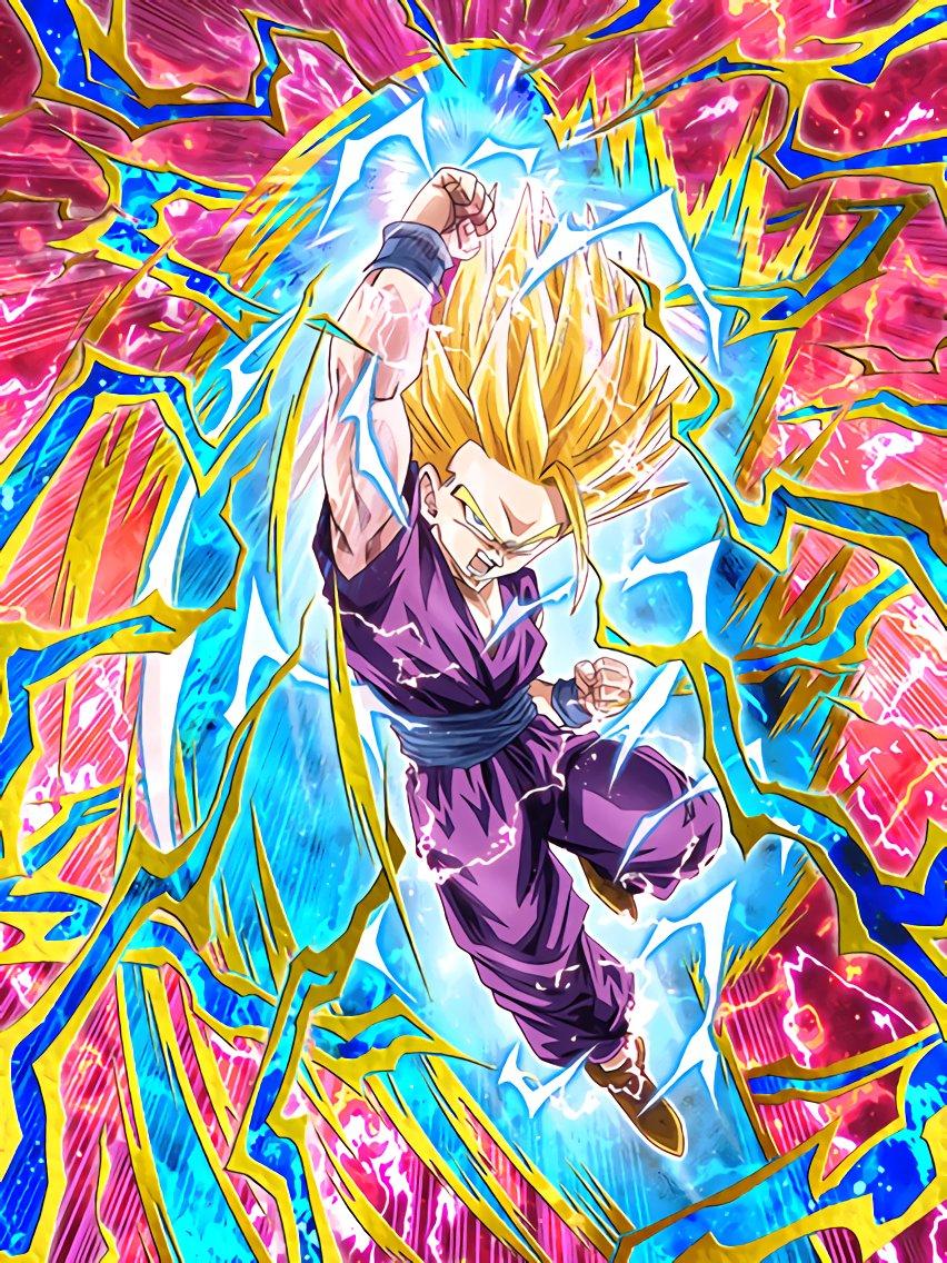 Fatal Resolve Super Saiyan 2 Gohan Youth Dragon Ball Z
