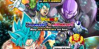 Rare Summon: Universe 7 vs. Universe 6