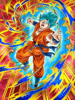 Hammering Light Super Saiyan God SS Goku