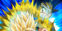 Defying the All-Powerful Super Saiyan Trunks (Kid)