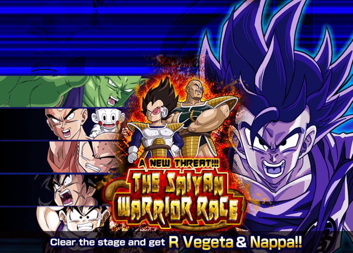 Event saiyan warrior race big