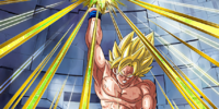 Triumphant Light Super Saiyan Goku