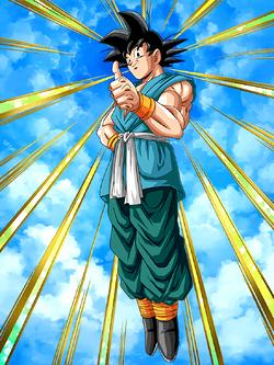 Reaching New Heights Goku