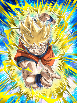 A Testament to Training Super Saiyan Goku