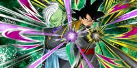 Distorted Justice Goku Black & Zamasu