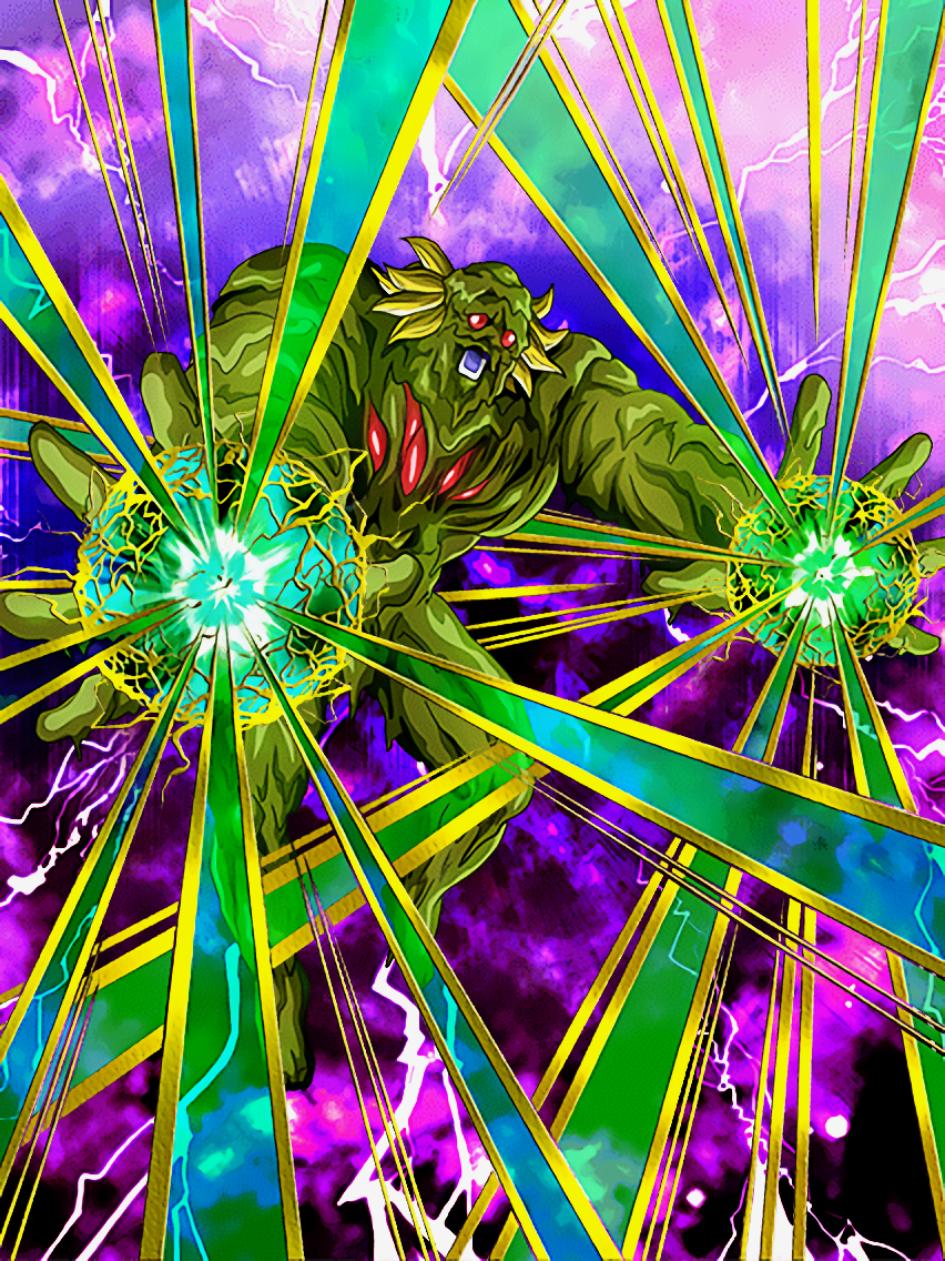 A Demons Revival Bio Broly Dragon