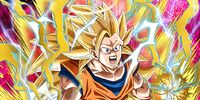 Maximum Power Concentration Super Saiyan 3 Goku (Angel)