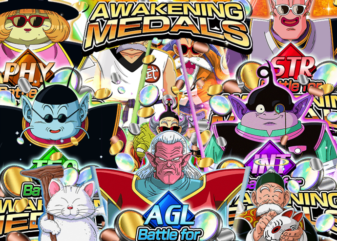 Events all battle for awakening medals
