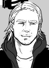 Sons of anarchy jax teller sketches by kenji893-d89y43a