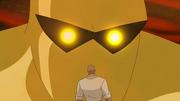Amazo and Lex Luthor
