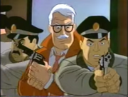 The Dark Knight's First Night Commissioner Gordon and the cops