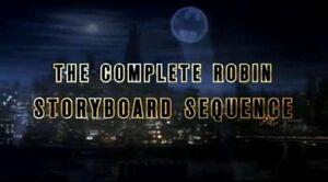 Robin Storyboard Sequence