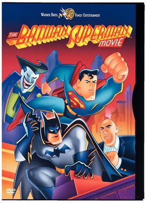 Batman superman dvd