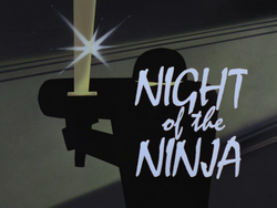 Night of the Ninja-Title Card