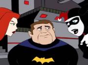Trick or Trick Man disguised Batgirl