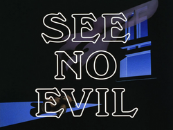 See No Evil-Title Card