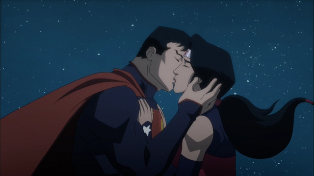 File:Superman kisses Wonder Woman.png
