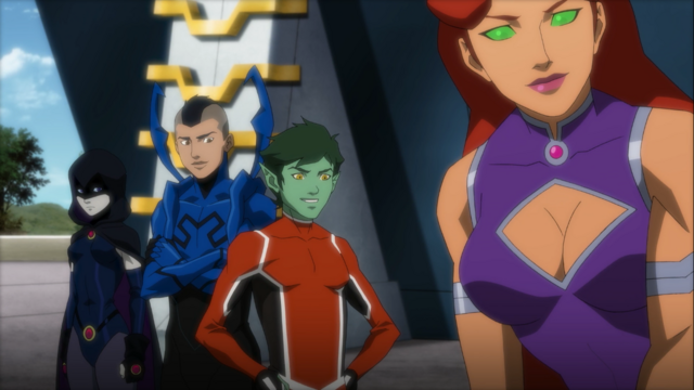 File:Teen Titans Original Formation.png