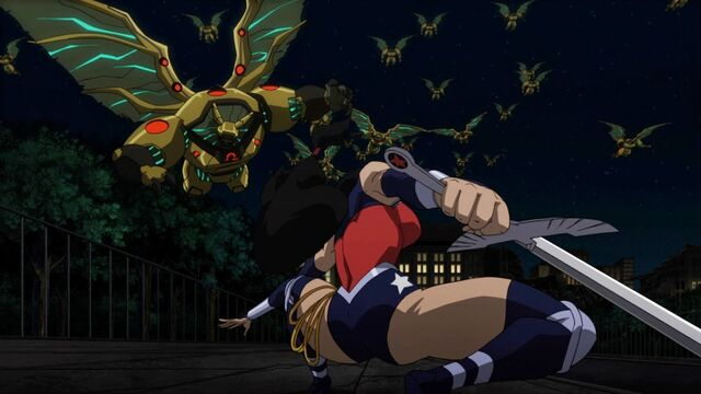 File:Wonder Woman Against Multiples Parademons.jpg