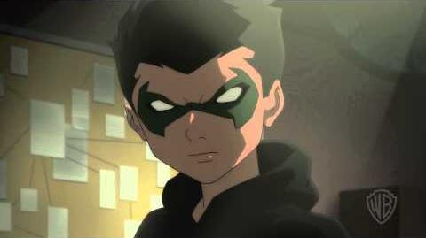 Batman vs Robin - Robin Talon Have a Talk