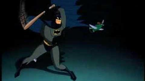 They don't call him the Batman for nothing!
