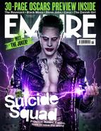 Empire - Suicide Squad Joker cover