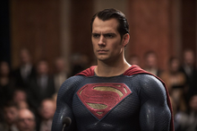 Superman standing strong