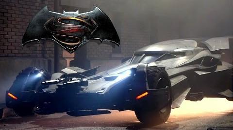Batman v Superman Dawn of Justice B-Roll - Batmobile (2016) Ben Affleck Superhero Movie HD