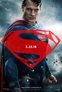 Batman v Superman Dawn of Justice - Superman character poster