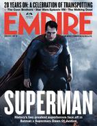 Empire - Batman v Superman Dawn of Justice March 2016 variant cover - Superman
